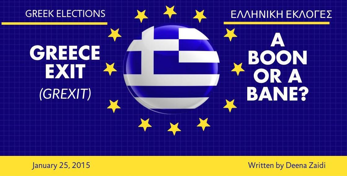 Greece Exit (GREXIT) – A Boon Or A Bane?